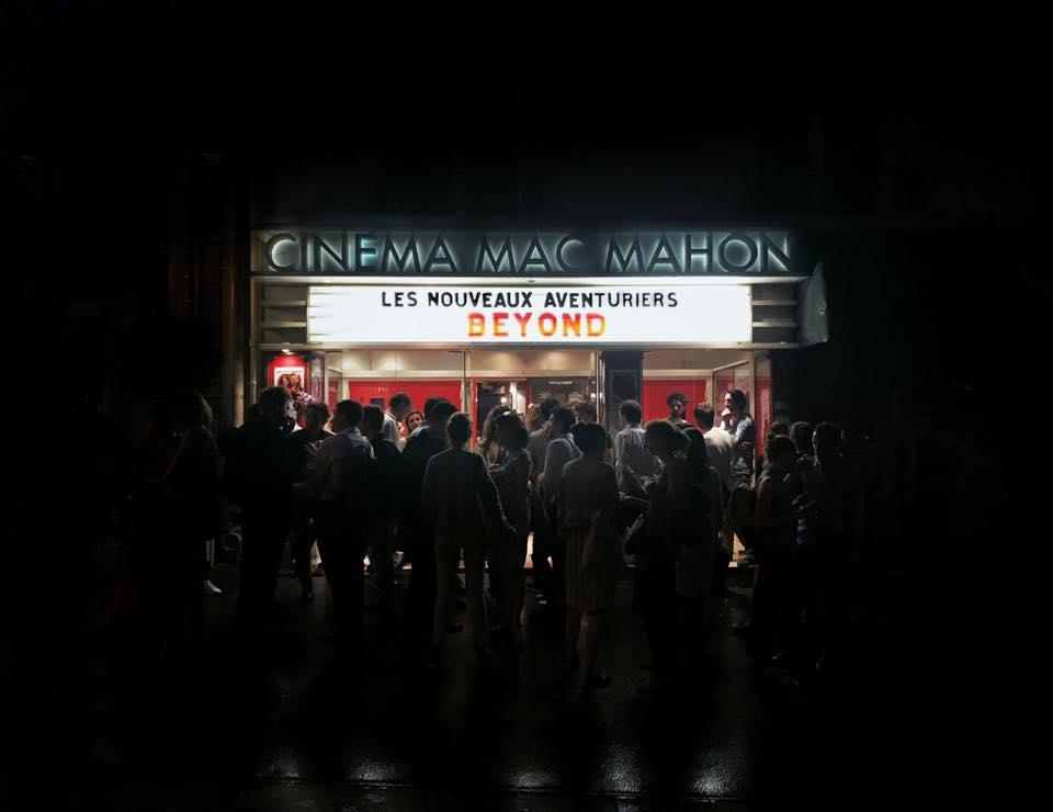 Soirée Beyond - Les nouveaux Aventuriers - Cinéma Mac Mahon à Paris - 2018