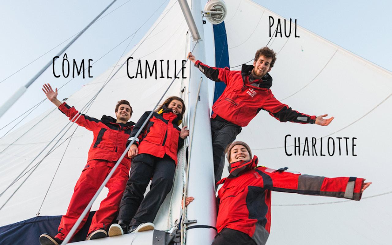 4 matelots plein d'énergie | by IMAGO Incubateur d'Aventures